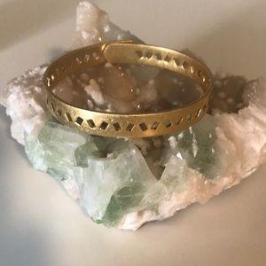 Madewell gold bangle